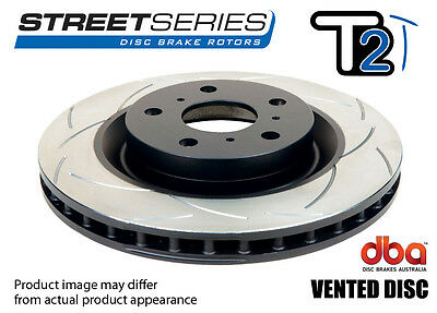 DBA Front T2 Slotted Brake Rotor Pair DBA040S fits Holden Commodore VT 3.8 V6...