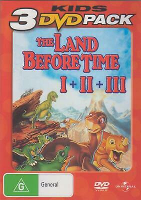The Land Before Time / the Land Before Time Ii: the Great Valley Adventure / the