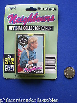 Topps ' Neighbours  '  Cards  1980s   Factory Carded & Sealed