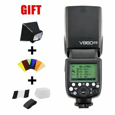Godox V860II-S TTL II HSS 2.4G GN60 Li-ion Camera Flash Speedlite for Sony DSLR