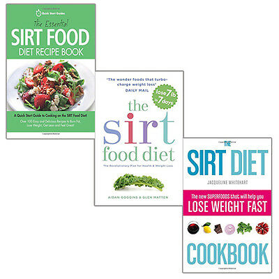 The sirtfood diet the revolutionary plan fo by aidan goggins new the sirtfood diet collection 3 books set the essential sirt food diet new pack forumfinder Choice Image