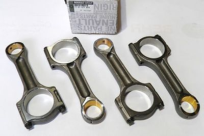 Connecting Rods Conrods Set Renault Nissan Opel 2.0 Dci/cdti M9R (Genuine)