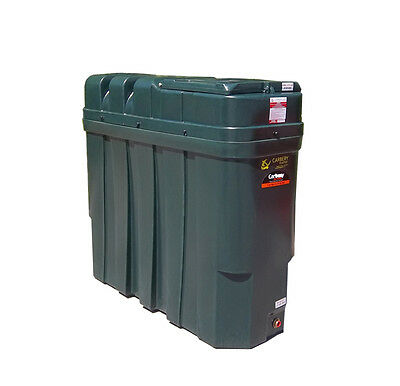 Carbery 1000L Superslim Bunded Domestic Heating Oil Tank - OFTEC APPROVED