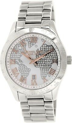 Michael Kors Women's Layton MK5958 Silver Stainless-Steel Quartz Watch