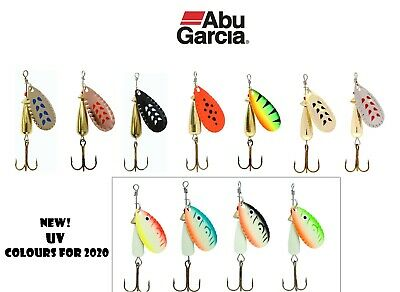 Abu Garcia Droppen Spinners*11 Colours//4 Weights*Trout Perch Salmon Chub Lure