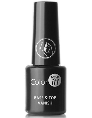 Silcare Color It! Base and Top Varnish 8g for Hybrid UV Nail Varnish