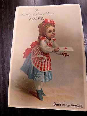 Antique Trade Card for Lautz Brothers Soaps