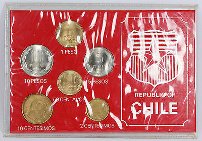 Republic of Chile Coin Collection 1973 #215012