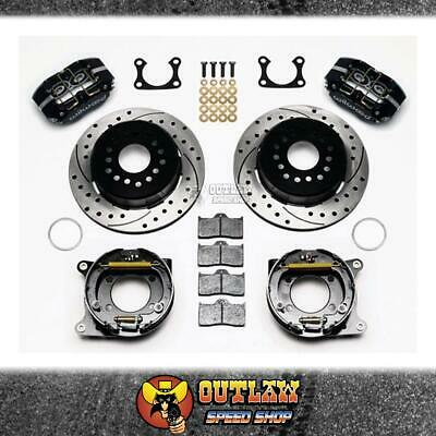 Wilwood Dust Boot Rear Park Brake Kit Suit Ford Big Bearing - Wil14013204D