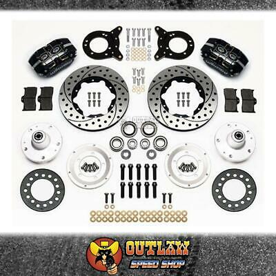 Wilwood Dustboot Front Brake Kit Ford Suit 63-69 Falcon Couger - Wil14013343D