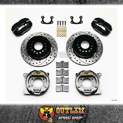 Wilwood Dynalite Rear Parking Brake Kit Drilled Suit Small Ford - Wil1407143D