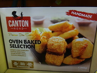 Canton Road Oven Baked Selection 1.06KG (32 pieces)