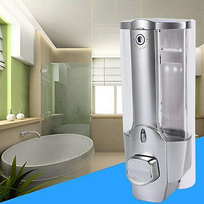 350ml Single Head Bathroom Shampoo Dispenser Home Wall Mount Soap Sanitizer