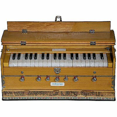 HOME DECOR EDH Harmonium 7 Stopper 39 Keys - Comes with Book&Bag - Tuned to A440