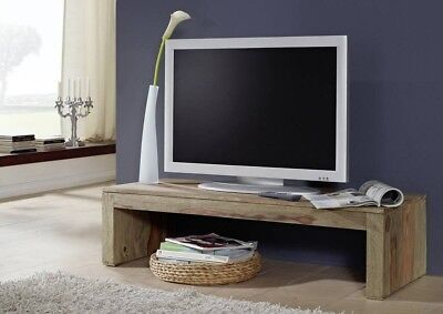 tv lowboard sideboard massivholz tv board sheesham. Black Bedroom Furniture Sets. Home Design Ideas