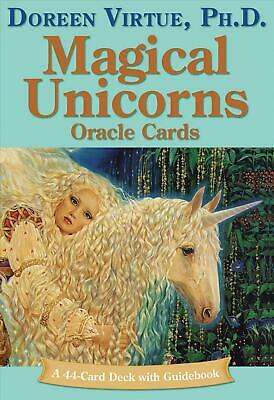 Magical Unicorn Oracle Cards by Doreen Virtue (English) Free Shipping!