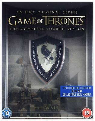 Game Of Thrones Season 4 Steelbook (Blu Ray)