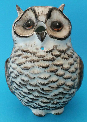 Pottery Owl String Holder Babbacombe Devon Ceramic Ornament