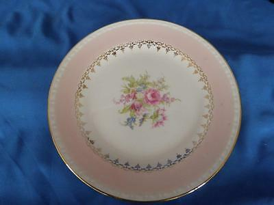 Homer Laughlin Eggshell Georgian Pink Roses Chateau Bread Butter Plate G3467