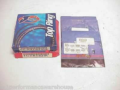 NEW JE & Total Seal Piston Rings 4.125 Top Ring & 4.130 Second Ring