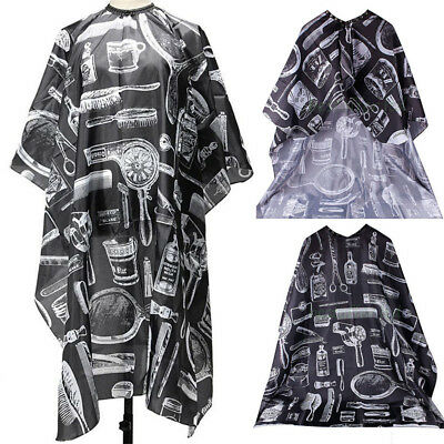 Pro Hair Salon Hairdressers Hair Styling Cut Dye Cape Cover Barbers Apron Gown
