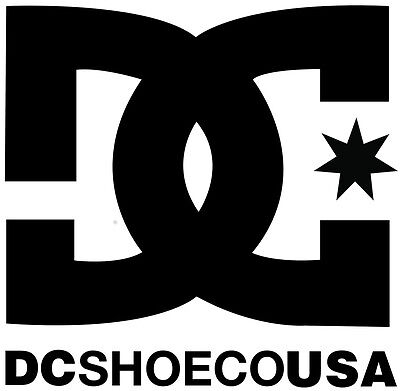 DC Shoes SnowBoard Skateboard Die Cut Graphic Sticker Decal Vinyl  4 iinch