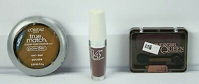 Lot of Makeup L'oreal True Match Powder Maybelline Lipstick Covergirl Eye Shadow