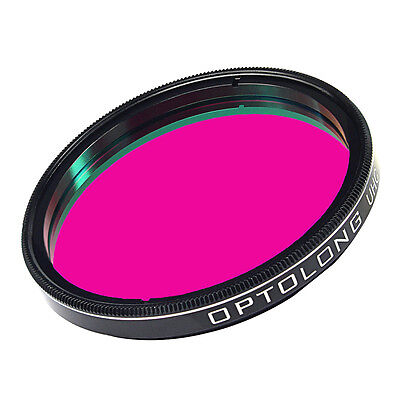 "2"" Ultra High Contrast UHC Nebula Filter Anti-reflection for Cut Light Pollution"