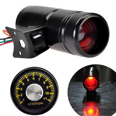 Adjustable Tachometer RPM Tacho Meter Gauge Shift Light 1000-11000 AU NSW Stock