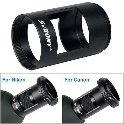 Hot!Full Metal Photography Sleeve M42 Thread for Landscape Lens Spotting Scope