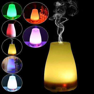 LED Ultrasonic Air Diffuser Humidifier Aroma Essential Oil Aromatherapy Purifier