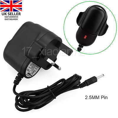 """5V 2A UK Mains AC Wall Adapter Power Supply Charger Android Tablet 7"""" 8 9"""" 10.1"""""""