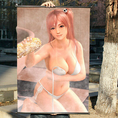 Dead Or Alive Xtreme3 Honoka Poster Wall Painting Murals Scroll Painting 60*90cm