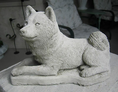 Shiba Inu Concrete Statue Or Use As A Monument