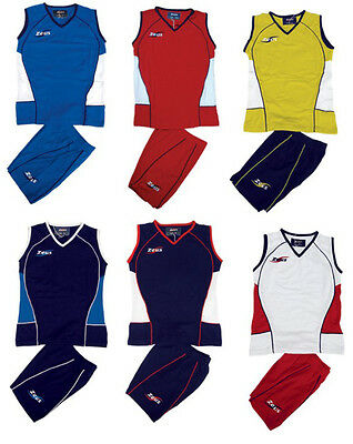 ZEUS KIT IOLY VOLLEY COMPLETINO DONNA PALLAVOLO VOLLEY BALL SPORT