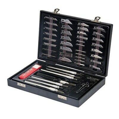 44 Piece Hobby Knife Set