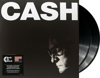 "Johnny Cash ""american IV: the man comes around"" 180g Vinyl 2LP + MP3 NEU"