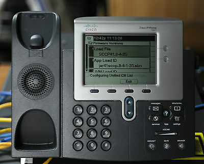 Cisco CP-7941G Unified 7900 7941 Series IP Phone - 1 YWty/ TxInv