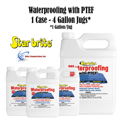 Star Brite 81900 Fabric Waterproofing w/ PTEF (1 Case - 4 Gallon Jugs)
