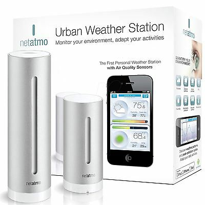 Netatmo Smartphone Indoor & Outdoor Urban Wireless Weather Station Modules NEW