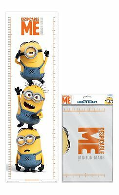 Despicable Me Minion (Stacked) 1.6 Metre Height Chart/wall Poster By Pyramid
