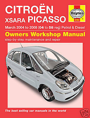 Haynes Manual Citroen Xsara Picasso 04-08 NEW 4784