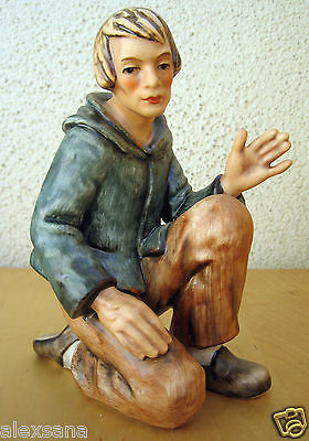 Hum #260 J Shepherd Kneeling Tm5 Goebel Hummel Figurine Large Nativity Set $355