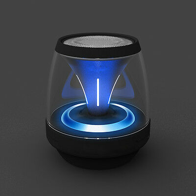 Mini Portable LED Bluetooth Speaker Wireless Bass For Smartphone Tablet PC New