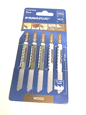 Jigsaw Blades For Wood 101BR Down Cut Worktops, Laminate x 1 Pack Jig Saw Cut