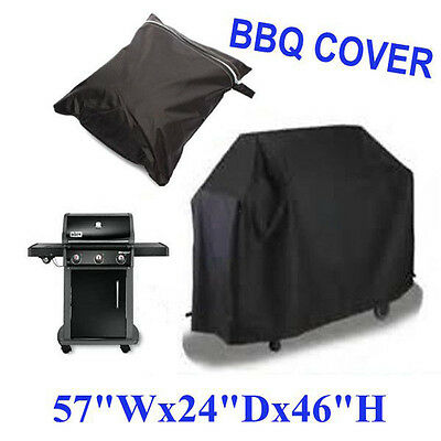 BBQ Cover Barbecue Covers Outdoor Waterproof Garden Patio Grill Protector Large
