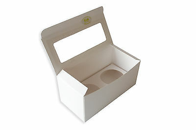 15sets x 2-hole cupcake box for regular 6cm hole insert included: C01/15