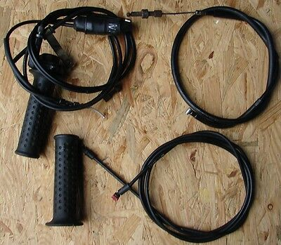 Piaggio Nrg 50 Power A/c 2008 08 Left Right Throttle Grip Seat Release Cable
