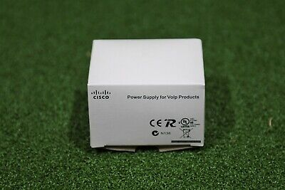 CP-PWR-CUBE-3 VoIP Phone Power Supply CP-7961G 7962G 7965G 7971G W/ Power Cord