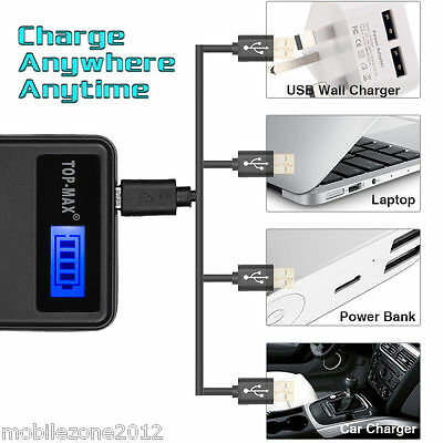 Camera Battery charger Canon BP511 BP512 BP522 BP535 EOS 5D 50D 40D 30D 20D 10D